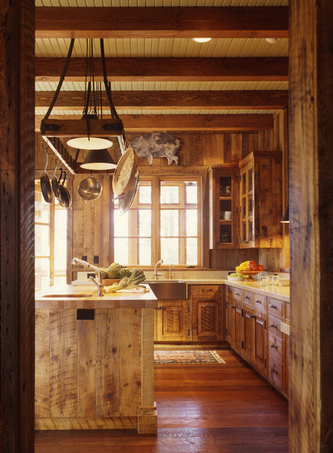 Family Ranch Rustic Kitchen San Francisco By