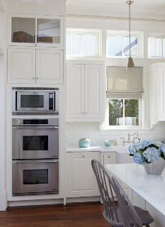 kitchen flush mount ceiling lights island with casters what are the height dimensions of double oven and ...