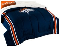 NFL Denver Broncos Twin-Full Comforter Set Football ...