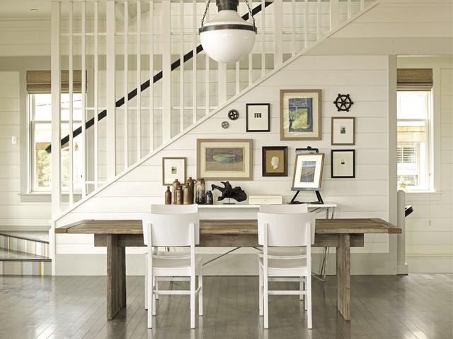 Coastal Modern by Tim Clarke beach-style-dining-room
