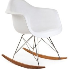 Chair Steel Legs Whole Foods Massage Rar Mid Century Modern Rocking With Eiffel Midcentury Chairs By Emodern Decor