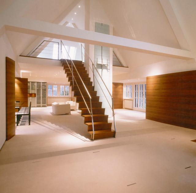 Ausbau Dachgeschoss Privathaus S  Modern  Treppen
