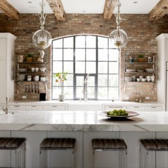 Brick Backsplash In Kitchen Rubber Mats Design Donna S Blog Thompson Custom Homes