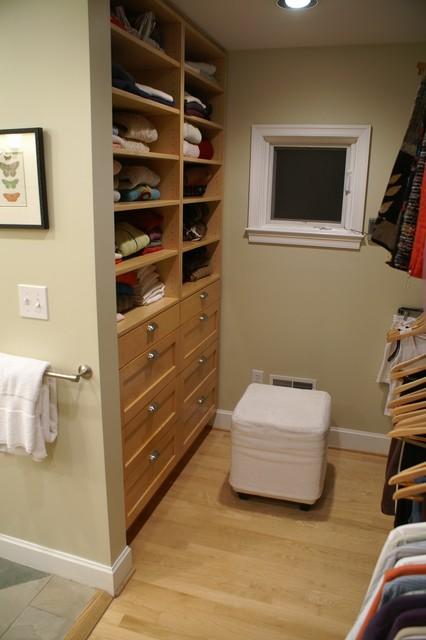 Birmingham MI master closetbath combination