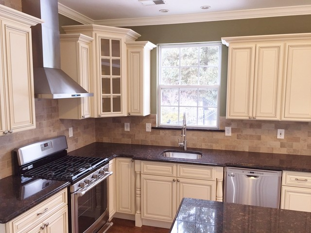 kitchen cabinets newark nj ikea table and chairs set remodeling in monroe - traditional ...