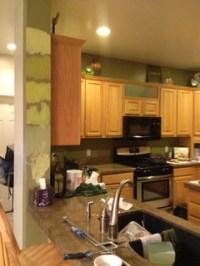 Best Paint Color with Honey Oak Cabinets?