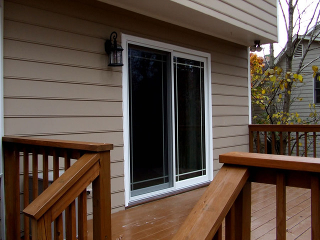 Sliding Glass Door installed in Apex NC  Traditional  Exterior  Raleigh  by KELLY WINDOW  DOOR