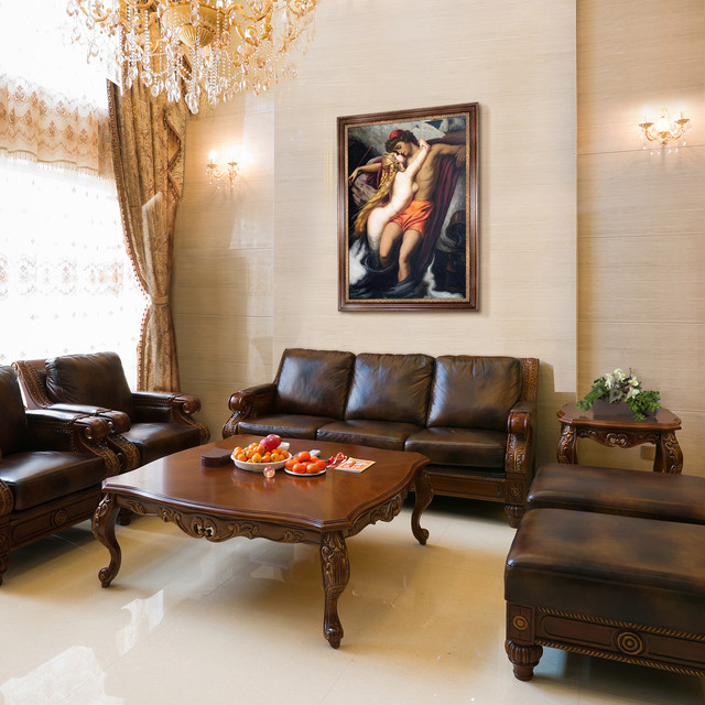 Oil Paintings for Living Rooms  Traditional  Living Room