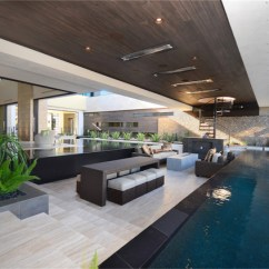 Las Vegas Office Chairs Nail Salon With Kid The 2013 Nahb New American Home - Modern Pool By Two Trails | Sustainable ...