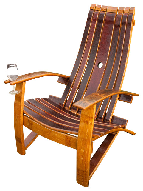adirondack wine barrel chairs wicker wingback chair farmhouse by