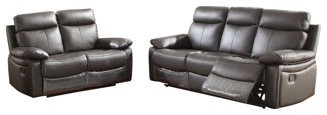 ryker reclining sofa and loveseat 2 piece set small seater sofas argos leather living room with dark brown