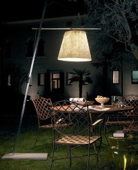 Anton Angeli - Miami Outdoor floor lamp - Modern - Floor ...