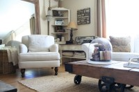 Sunny and Bright Living Room - Shabby-chic Style - Living ...