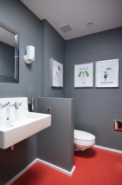Dallas TX Stolp  Midcentury  Bathroom  Dallas  by