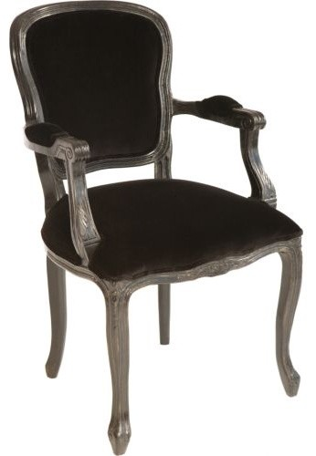 eiffel chair wood legs rail moulding lowes orleans arm black - dining chairs by high fashion home