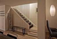 Townhouse Renovation in San Diego - Farmhouse - Staircase ...