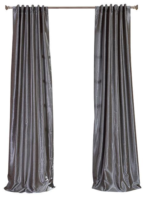 Gray Silk Curtains BestCurtains