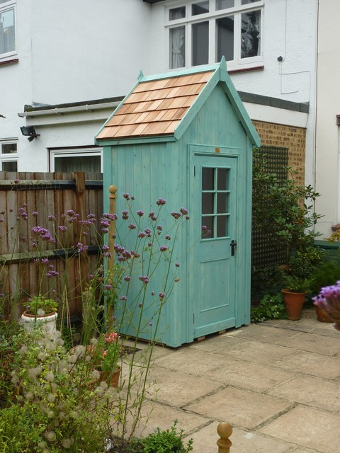 Small Garden You Ll Want To See These 7 Tiny Shed Ideas Houzz Uk