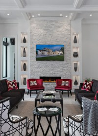 Coastal Contemporary - Contemporary - Living Room - Miami ...