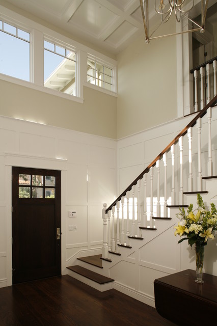 TwoStory Entry Foyer  Traditional  Entry  Los Angeles  by Shigetomi Pratt Architects Inc