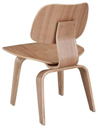 EAMES STYLE MOLDED PLYWOOD DINING CHAIR - Midcentury ...