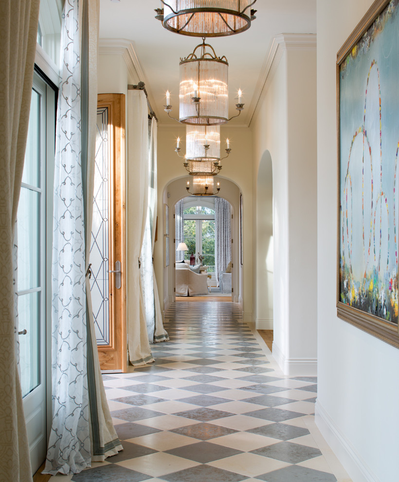 Hallway With Arches Custom Interior Lighting And Fine