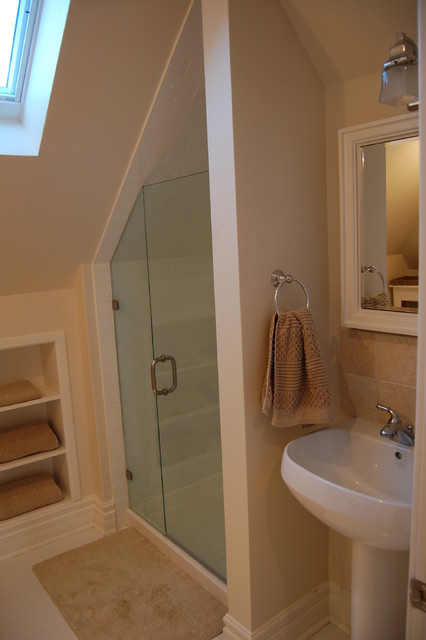 Attic Renovations Contemporary Bathroom Toronto By
