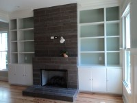 Fireplace - Contemporary - Living Room - Charleston - by ...
