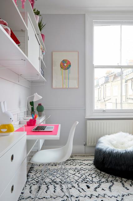 Gemma's Tween Bedroom, Little Venice Town House, London modern-kids