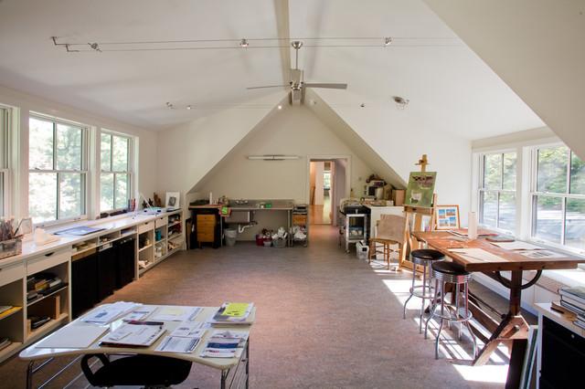 Artists Cottage Modern Home Office Philadelphia