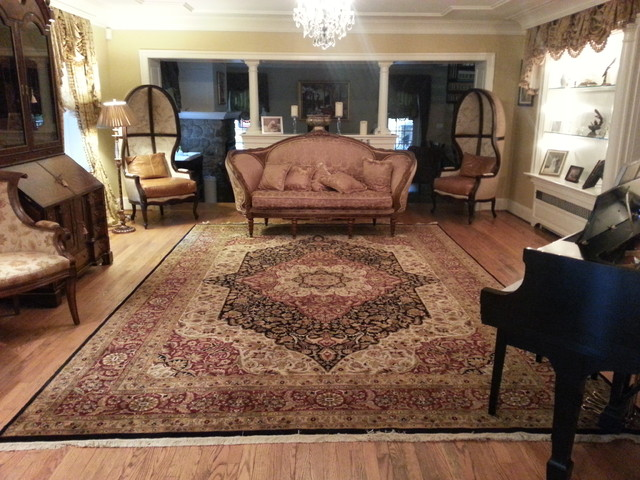 traditional living rooms with oriental rugs contemporary room log burner new hope pa formal rug by nejad www com philadelphia