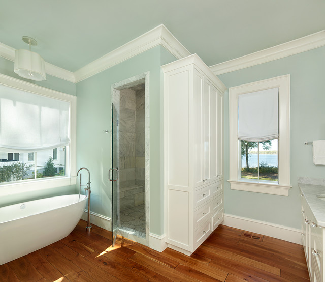 houzz living rooms with sectionals grey and purple room curtains river house - beach style bathroom charleston by ...