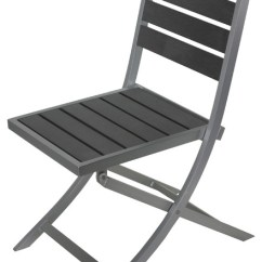 High Outdoor Folding Chairs Black Ruched Chair Covers Maxwell Aluminum Slate Gray 1 Contemporary By Cortesi Home
