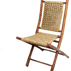 Bamboo Folding Chair Awesome Office Chairs Lanikai With Open Link Seagrass Weave Asian And Stools By Heather Ann Creations