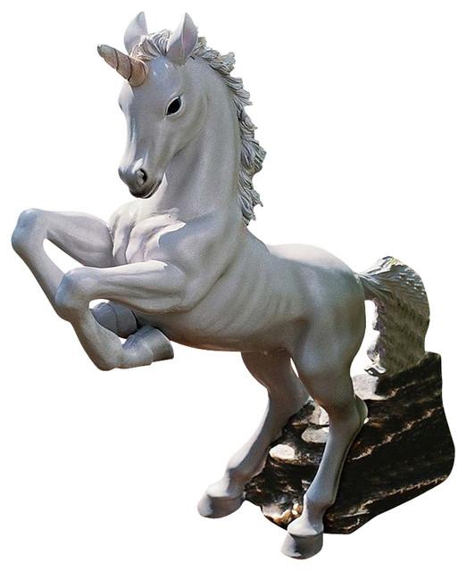 enchanted unicorn statue