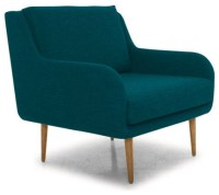 Cosby Chair - Lucky Turquoise Blue - Midcentury ...