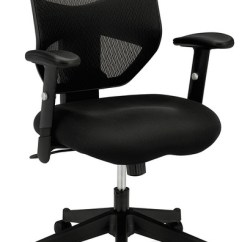 Hon Desk Chairs Teal Side Chair Office Basyx Vl531 Black Contemporary By Cubicles