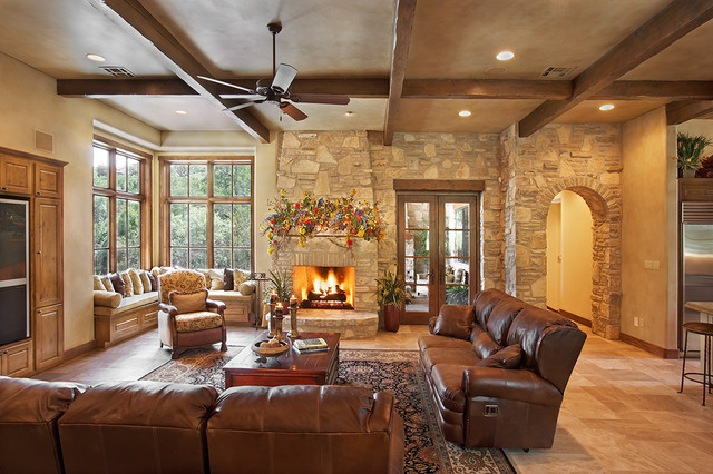 Hill country style interior design for Texas hill country decorating style