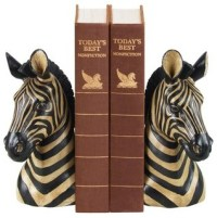 Zebra Bookends, Pair - Contemporary - Bookends - by South ...