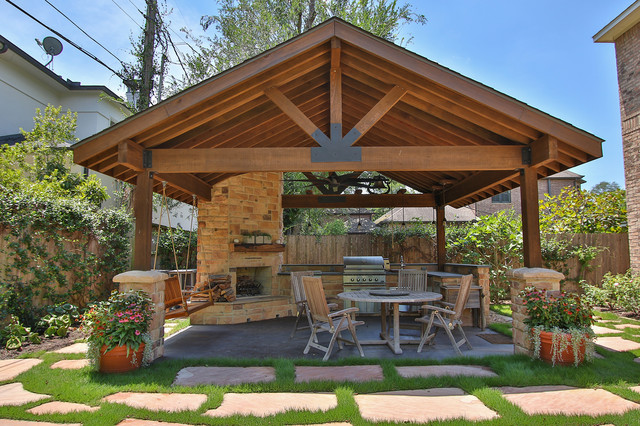 Braeswood Place Outdoor Covered Patio Sunroom And Balcony