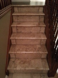 Travertine Stairs - Staircase - toronto - by Sense of ...