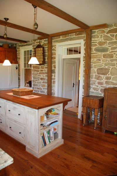 carpenter kitchen cabinet red knife set 1800's farmhouse remodel - traditional ...