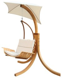 Swing Chair With Umbrella - Contemporary - Hammocks And ...