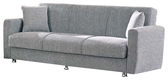 empire furniture sofa dfs leather complaints usa niagara modern fold out convertible bed sleeper gray contemporary sofas by beyan signature