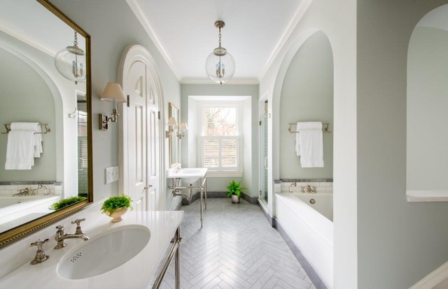 Historic House Renovation traditional-bathroom