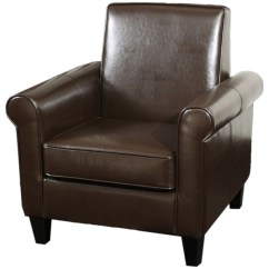 Brown Accent Chairs Zanui Desk Chair Larkspur Modern Design Leather Club Transitional Armchairs