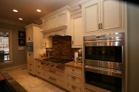 Custom Inset Cabinetry in Greystone - Traditional ...