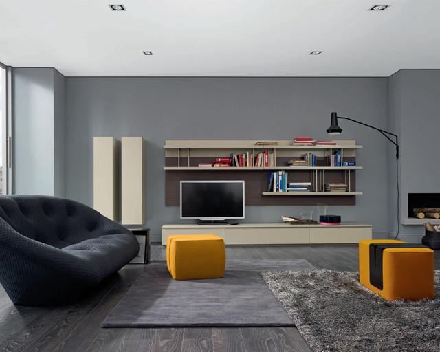 Mixte modular wall unit by Ligne Roset  Contemporary