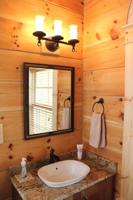 MONTPELIER LOG CABIN  Rustic  Bathroom  richmond  by