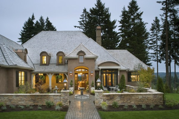 french country elegance - traditional